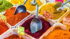Here are some of the best spices to buy in Israel – whether you are looking to taste something new, or stock up on your favorite seasoning. Spice Blends, Spice Mixes, National Dish, Spices And Herbs, Garam Masala, Meal Planning, Traveling By Yourself, Laos, Vegan Recipes
