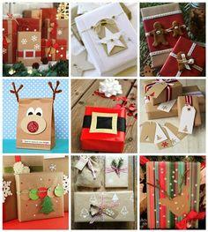 buenas ideas para empacar un regalos navideos