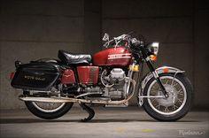 1973 Moto Guzzi GT 850 - Pipeburn - Purveyors of Classic Motorcycles, Cafe Racers & Custom motorbikes