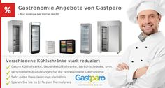 Verschiedene Kühlschränke stark reduziert! Jetzt Angebote bei Gastparo sichern. http://www.gastparo.de/top-seller-gastronomie-bedarf-guenstig