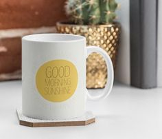 Say goodbye to those typical white drinking mugs. Now is the time to welcome the Morning Sunshine Coffee Mug to your life.