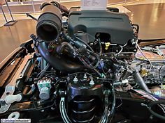 2017 Ford F-150 chassis in detail. As shown at the Dearborn Truck Plant, home of the F-150 assembly.