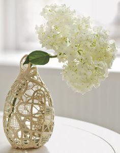 Doily Vase