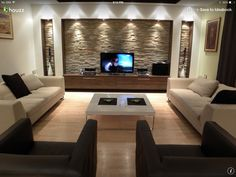 Revestimiento simil pared (stone wall)