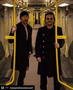 U2's Edge and Bono 2017