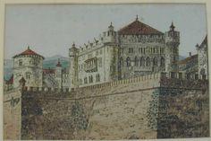 Las almenas del castillo