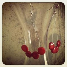 Red Corral Surgical Steel Earrings  16.00