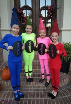 crayon halloween costume homemade - Google Search