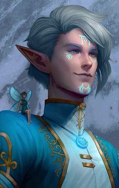 Fantasy Character Design, Character Creation, Character Design Inspiration, Character Concept, Character Art, Elves Fantasy, Fantasy Rpg, Dnd Characters, Fantasy Characters