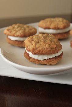 Life's Too Short to Skip Dessert: Oatmeal Whoopie Pies (again!)