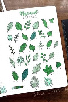 Best August Mood Tracker Ideas For Bullet Journals - Crazy Laura, Bullet Journal Mood Tracker Ideas, Bullet Journal Aesthetic, Bullet Journal Notebook, Bullet Journal Ideas Pages, Bullet Journal Inspiration, Bullet Journal Leaves, Mini Drawings, Doodle Art Journals, Scrapbook Journal