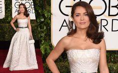 Golden Globes 2015 Red Carpet: Salma Hayek
