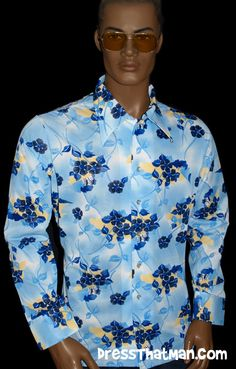 mens shirts from the 70's