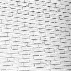 Bricks White Wallpaper is a realistic brick effect wallpaper in a white colour. It is perfect for a contemporary interior as a feature wall or for all walls.