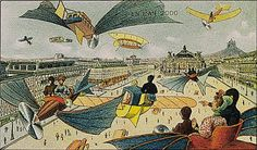 JF Ptak Science Books: Postcards to the Future--the year 2000 in 1910