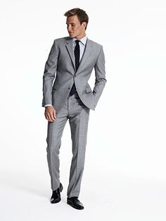 Big fan of gray suits.