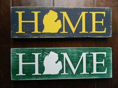 Most college sports fans living in Michigan feel strongly one way or the other about their team affiliation. This sign is the perfect way to