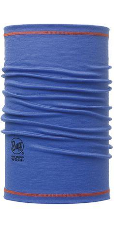 Merino+Wool+3/4+Buff:+Blue+Ink