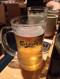 マレーシアでカールスバーグ飲んでます暑いからビールが美味しい!【ペナンさん】