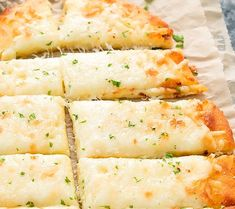 side view picture of keto breadsticks