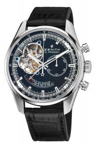 Zenith Men's Chronomaster Black Dial Watch