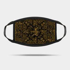 Mayan Spring GOLD - Archaeology - Mask | TeePublic Mask Design, Archaeology, Sunglasses Case, Belt, Face Masks, Spring, Online Shopping, Accessories, Women