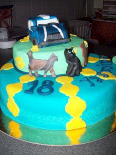 Het verwonderd mij hoe een lekkere taart dat wel was.  23/10/2013