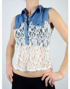 Γυναικεία Ρουχα End Of Season Sale, Vest, Denim, Jackets, Tops, Fashion, Down Jackets, Moda, La Mode