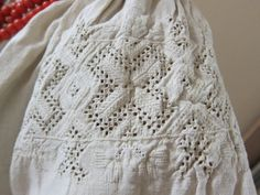 Eastern Podolian embroidered shirt (a part of traditional Ukrainian costume).