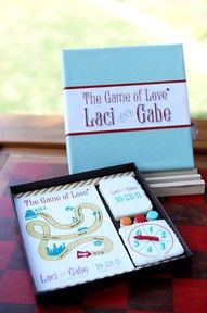 Game of Love Save-the-Date