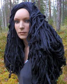 Hair-styling Crocheting, Knit Crochet, Dreadlocks, Knitting, Hair Styles, Beauty, Chrochet, Ganchillo, Tricot