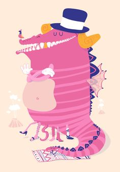 mas inspiración en www.fabiko.tk    Monster by André Britz, via Behance