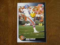 Mike Horan Denver Broncos Punter Card No. 578 (FB578) 1991 Score Football Card - for sale at Wenzel Thrifty Nickel ecrater store