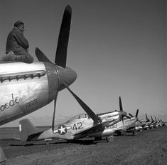 Plane Photos, Tuskegee Airmen, P51 Mustang, Ww2 Planes, Southern Italy, Library Of Congress, Military History, Military Aircraft, World War Ii
