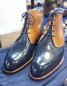 Two Toned Darby Boot by Carreducker – The Shoe Snob Blog