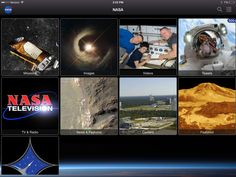 The NASA App for Smartphones and Tablets