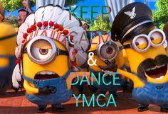 Minions Song ~ YMCA with Lyrics & full video clips [ Despicable me 2 ] Despicable Me 2 Minions, Cute Minions, Minions 2014, Minions Fans, Minions Cartoon, Minion Stuff, Birthday Songs, Happy Birthday, Birthday Wishes