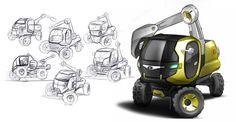 Tata mini earth mover  by Swaroop Roy