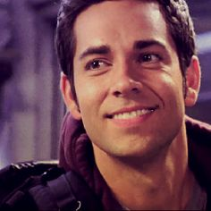 Zachary Levi! I love him! Did you know he is also the voice of Flynn Rider ( Eugene Fitshurbert) in tangled!?