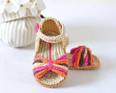 Looking for your next project? You're going to love Paris Baby Sandals by designer matildasmeadow. - via @Craftsy