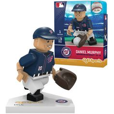 Washington Nationals Daniel Murphy OYO Sports Generation 5 Minifigure