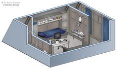 Enterprise NX-01 Phlox's Quarters by bobye2.deviantart.com on @DeviantArt