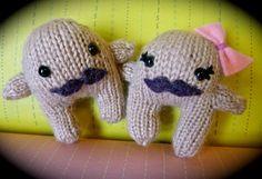 Mr. & Mrs Moustache, Les Petits peluches tricotées