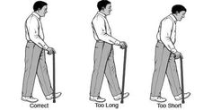 To reduce falls and pain, seniors need to know the right way to use a cane. This 7 min video from a physical therapy doctor shows how to do it right!