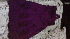 Vestido de festa feminino,tecido,tafetabordadoefacosobmedida R$ 240,00