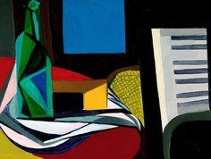 Renato Guttuso (Italian, 1911-1987) - Still life with piano, 1947
