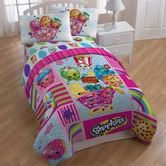 Features:  -Make a great gift for a child room.  -Super-soft microfiber.  -Fiber content and fill: 100 % Polyester.  Color: -Pink.  Material: -Polyester.  Number of Items Included: -4.  Thread Count:
