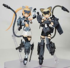 Girl Inspiration, Character Design Inspiration, Frame Arms Girl, 3d Figures, Robot Girl, Cosplay Armor, Anime Figurines, Metal Girl, Pretty Art
