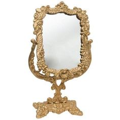 Antique Victorian Brass Mirror ($250) ❤ liked on Polyvore featuring home, home decor, mirrors, table mirrors, brass mirror, polished brass mirror, movie mirror mirror, jewelry mirror and brass home decor