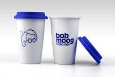 Iconic travel mug